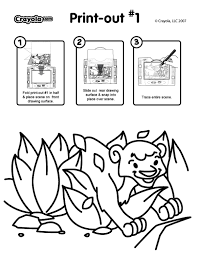 see thru light designer printable activity scene pages crayola ca
