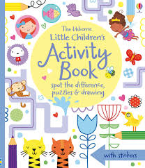 Little Children U0027s Activity Book Spot The Difference Puzzles And