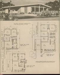 Vintage Retro Floor L Vintage Rambler Floor Plans House Decorations