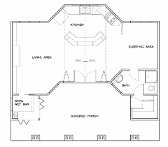 pool house plan first floor plan of coastal cottage craftsman house plan 57857