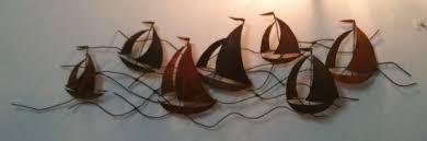 wall art designs metal sailboat wall art metal wall art sailing