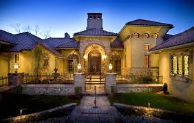 Tuscany Style Homes by Tuscan Homes Ramsey Building Old World Tuscan Beauty
