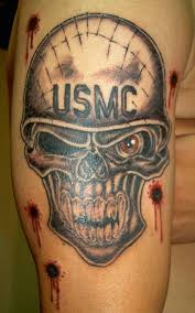 terrific us army skull with bullet signs photos
