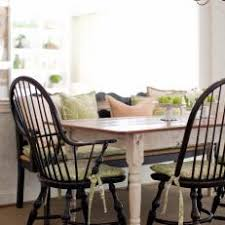 White Dining Table With Black Chairs Photos Hgtv