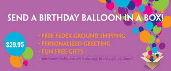 balloon in a box delivery usa the balloon bag send a helium inflated balloon in a box gift for