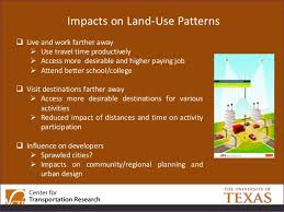Texas travel time to work images Driverless cars implications for travel behavior jpg