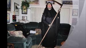 Halloween Reaper Costume Custom Grim Reaper Halloween Costume