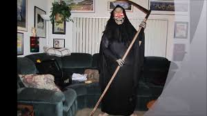 Grim Reaper Costume Custom Grim Reaper Halloween Costume Youtube