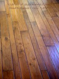 olde style walnut plank different width size home design