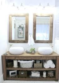 Rustic Industrial Bathroom - vanities industrial bathroom vanity units industrial vanity