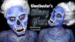 ghostbusters u0027 library ghost halloween makeup tutorial youtube