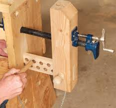 How To Build A Bench Vise 3 Classic Vises Made With Pipe Clamps Popular Woodworking Magazine