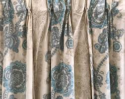 luxury curtains etsy
