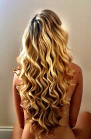pretty hair styles with wand long hair curling wand hair style and color for woman