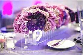 acrylic table numbers wedding blogiversary table number giveaway every last detail
