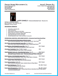 Football Coach Resume Sample by Basketball Resume Free Resume Example And Writing Download