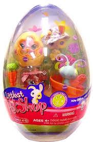 littlest pet shop easter eggs buy littlest pet shop figures egg 4 pack with bunny