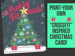 christmas cards themed crossfit themed christmas cards crossfit wod gear fitness