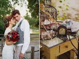 rustic vintage wedding picture of rustic vintage wedding styled shoot