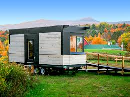 wheelchair friendly wheel pad tiny house proves universal design