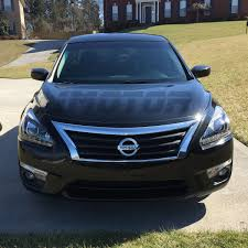 altima nissan black for 2013 2015 nissan altima sedan led drl projector black