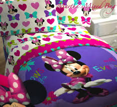 Minnie Mouse Rug Bedroom Bedding Set Awesome Purple Toddler Bedding New4pc Disney Minnie