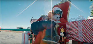 lexus christmas commercial santa u0027s lap is a 100 000 willow springs attack in a lexus rc