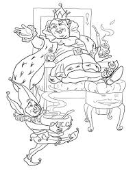old king cole coloring page free printable coloring pages