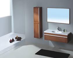 bathroom attractive wooden floating bathroom vanity set with