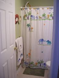 Kids Bathroom Shower Curtain Bathroom Design Stunning Shower Curtain Rod Brackets Flange