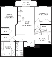 Bel Air Floor Plan by 55 Community For Active Adults Overlook At Macphail Woods