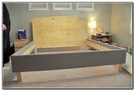 How To Build A Bed Frame And Headboard Best Fresh Diy Headboard White Large Size Of Hardware