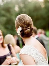 flower hair bun wedding hair flowers my new hair