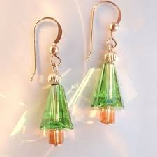 jewelry tree earrings swarovski crystals