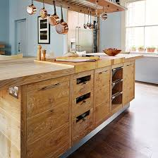 wooden kitchen furniture kitchen island ideas ideal home