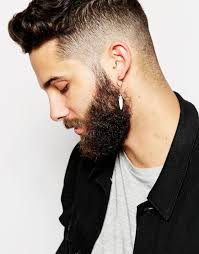 earring for men lyst asos tooth hoop earring pack for men