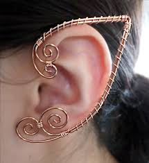 ear wraps simple elven ear wrap that can be worn by the most sensitive of