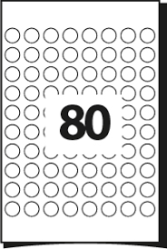 printing template for labels u2013 19 mm diameter u2013 80 round labels