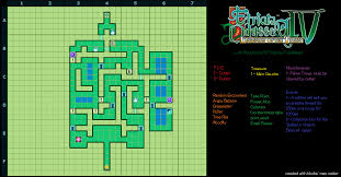 etrian odyssey iv legends of the titan lush woodlands b1f map for