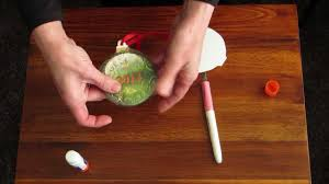 personalize a plaster christmas ornament with craft attitude youtube