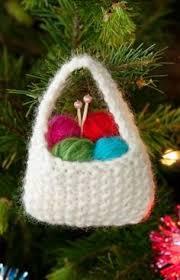 tiny tree ornaments knit ornaments ornament
