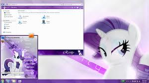 theme download for my pc rarity windows 7 theme by matniky on deviantart
