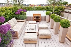 Rooftop Deck House Plans Terrace Garden Roof