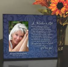 remembrance picture frame mothers memorial frame personalized frame to remember