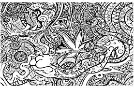 psychedelic coloring pages for adults eson me