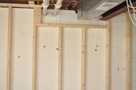 fine decoration how to frame a basement wall pretty looking how