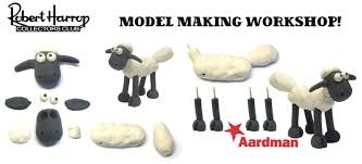shaun sheep model making workshop robert
