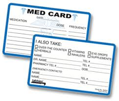medication card template bx 100 medication card forms and filing direct