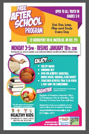 after school study after school program eat run jump play and study every day