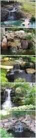 how to build a garden waterfall pond garden waterfall fish